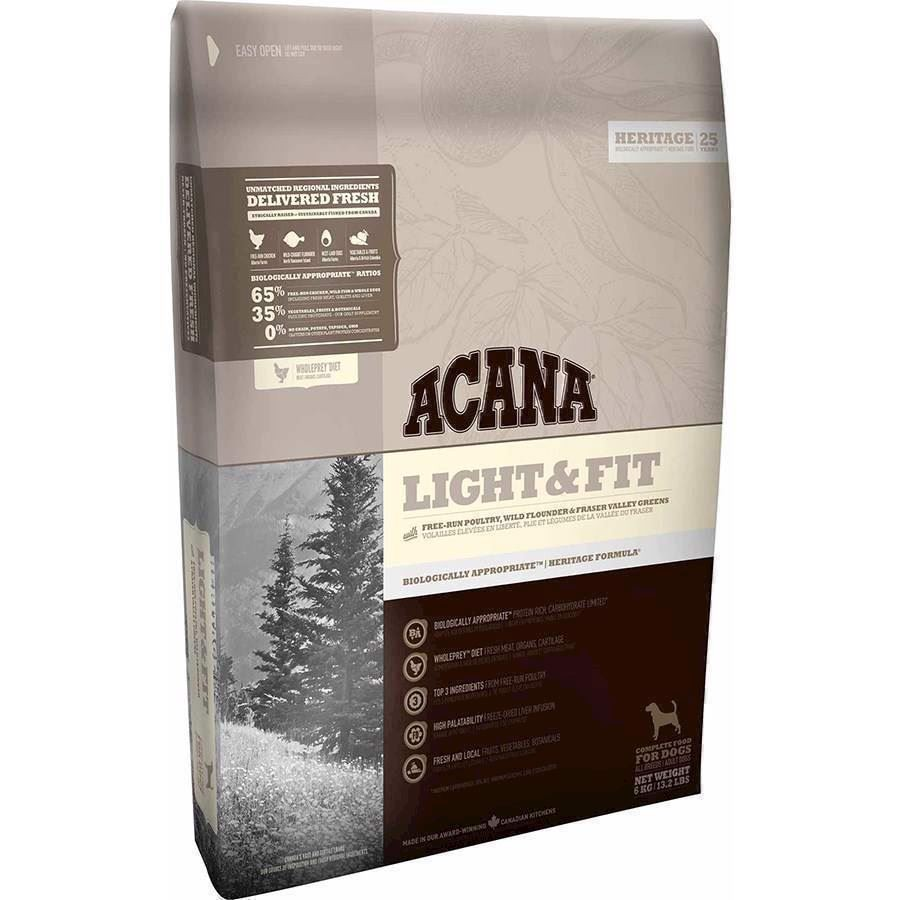 Acana Light And Fit, Heritage,  2 kg