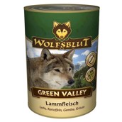 WolfsBlut Green Valley dåsemad, 395 gr.
