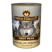 WolfsBlut Grey Peak Pure Adult dåsemad, 395 gr.