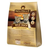 WolfsBlut Wild Duck PUPPY med and, 15 kg