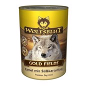 WolfsBlut Gold Fields dåsemad, 395 gr.