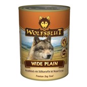 WolfsBlut Wide Plain Adult dåsemad, 395 gr.