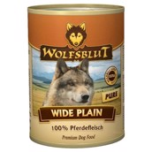 WolfsBlut Wide Plain PURE Adult dåsemad, 395 gr.