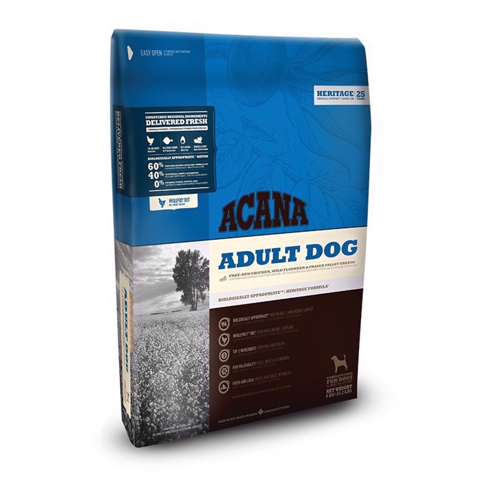 Acana Adult Dog, 6 kg